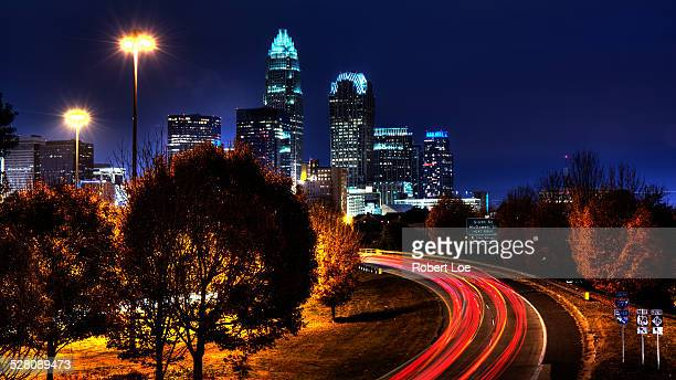 charlotte in motion - charlotte north carolina stock photos and pictures
