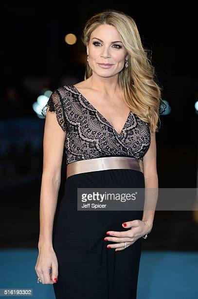 Charlotte Jackson arrives for the European premiere of 'Eddie The Eagle' at Odeon Leicester Square on March 17 2016 in London England