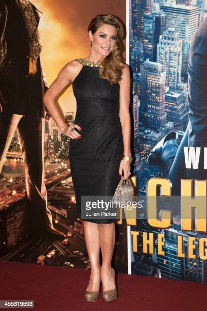 Charlotte Jackson attends the UK premiere of Anchorman 2 The Legend Continues at Vue West End on December 11 2013 in London England