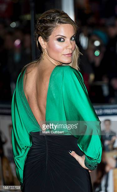 """Charlotte Jackson attends the World Premiere of """"Gambit"""" at Empire Leicester Square on November 7, 2012 in London, England."""