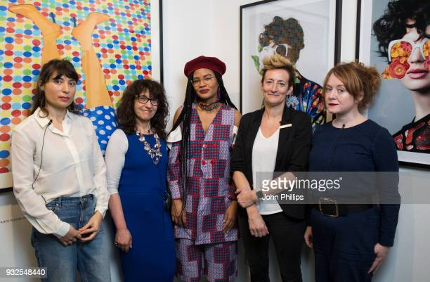 Charlotte Jansen, author and journalist, Sue Unerman, Chief Transformation Officer, MediaCom and Stephanie Nnamani, Getty Images photographer,...