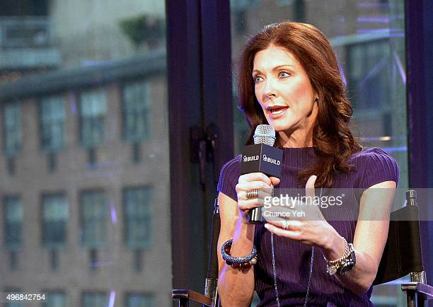 Charlotte Jones Anderson attends AOL BUILD presents a conversation with Charlotte Jones Anderson at AOL Studios In New York on November 12 2015 in...