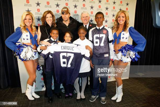 Charlotte Jones Anderson Enrique Iglesias and Major George Hood announce Enrique Iglesias will kick off the 120th Anniversary Of The Salvation Army...