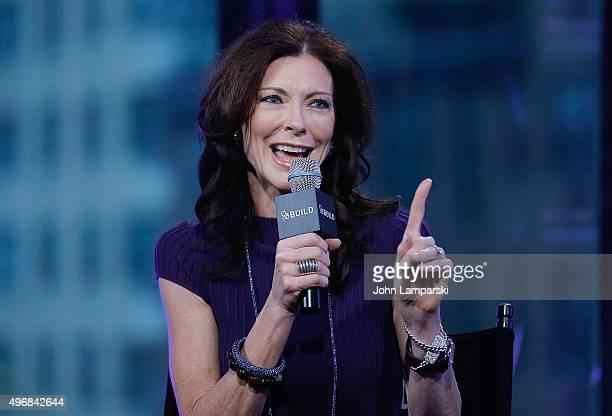 Charlotte Jones Anderson speaks during AOL Build at AOL Studios In New York on November 12 2015 in New York City