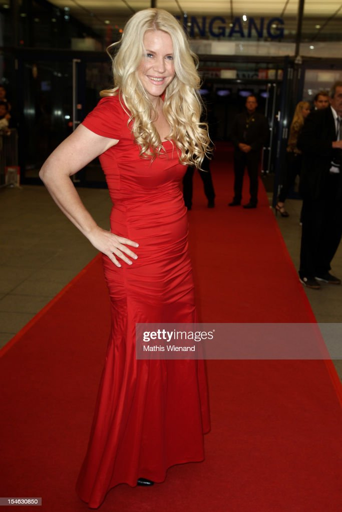 Charlotte Karlinder attends the '16. Annual German Comedy Award' on October 23, 2012 in Cologne, Germany.