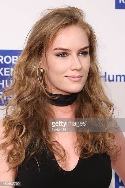 Charlotte Kirk attends the 2014 Robert F Kennedy Ripple Of Hope Gala at New York Hilton on December 16 2014 in New York City