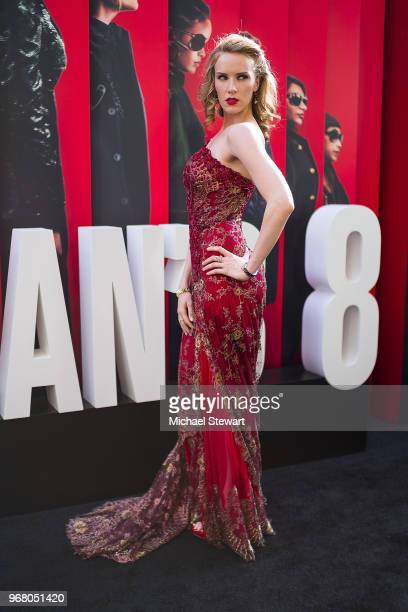 Charlotte Kirk attends the 'Ocean's 8' World Premiere at Alice Tully Hall on June 5 2018 in New York City