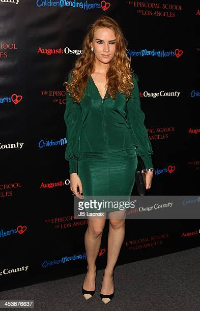 Charlotte Kirk attends The Weinstein Company's August Osage County screening benefiting Children Mending Hearts The Episcopal School of Los Angeles...