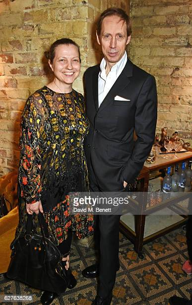 Charlotte Knight and Nick Knight attend The Fashion Awards in partnership with Swarovski nominees' lunch hosted by the British Fashion Council with...