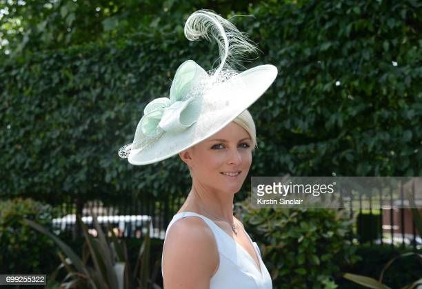 Charlotte Knight attends day 2 of Royal Ascot at Ascot Racecourse on June 21 2017 in Ascot England