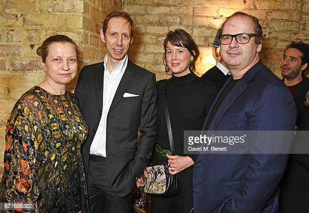 Charlotte Knight Nick Knight Shona Heath and Robin Derrick attend The Fashion Awards in partnership with Swarovski nominees' lunch hosted by the...