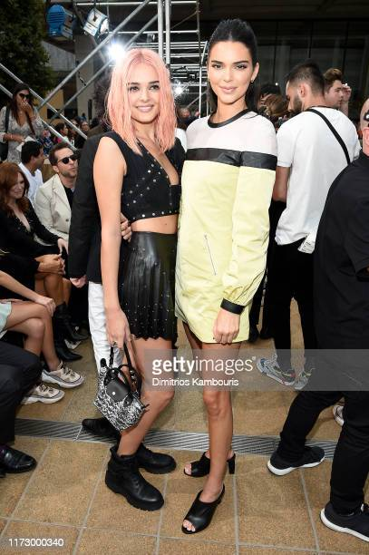 Charlotte Lawrence and Kendall Jenner attend the Longchamp SS20 Runway Show on September 07 2019 in New York City
