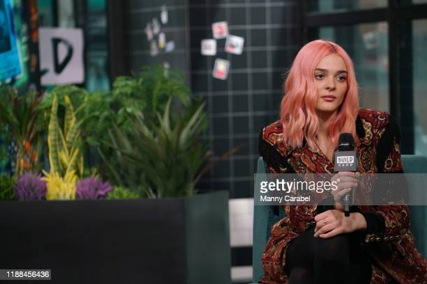 Charlotte Lawrence attends Build Series to discuss her new single at Build Studio on November 18 2019 in New York City