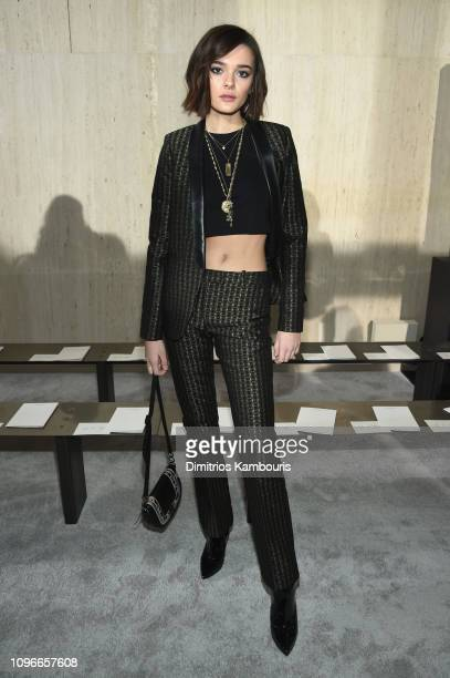 Charlotte Lawrence attends the Longchamp Fall/Winter 2019 Runway Show on February 9 2019 in New York City