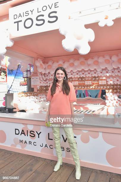 Charlotte Lawrence attends the Marc Jacobs Fragrances Celebrates the Launch of DAISY LOVE on May 9 2018 in Los Angeles California