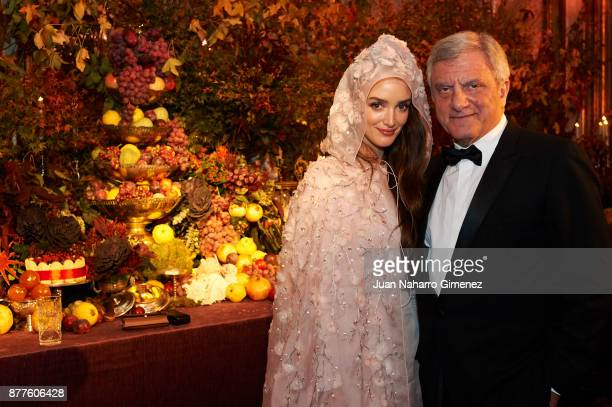 Charlotte Le Bon and Sidney Toledano on November 22 2017 in Madrid Spain