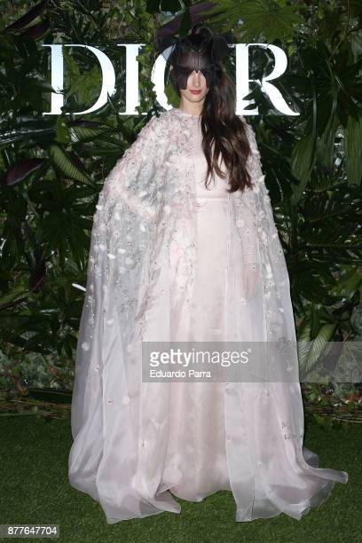 Charlotte Le Bon attends Dior Ball photocall at the Santona Palace November 22 2017 in Madrid Spain