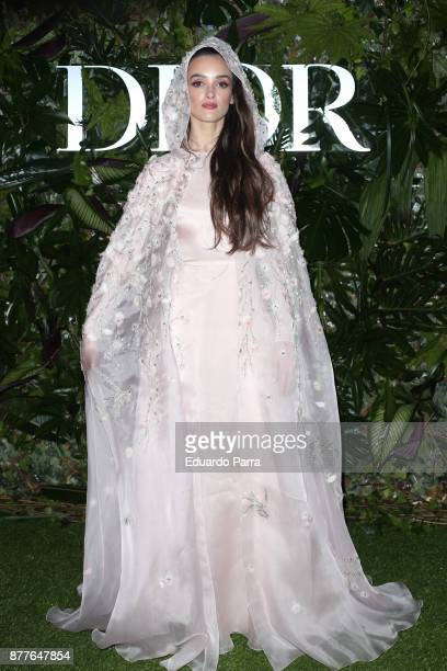 Charlotte Le Bon attends Dior Ball photocall at the Santona Palace November 22 2017 in Madrid Spain