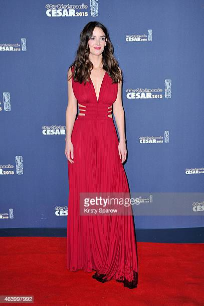 Charlotte Le Bon attends the 40th Cesar Film Awards at Theatre du Chatelet on February 20 2015 in Paris France