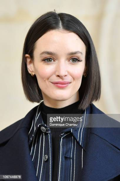 Charlotte Le Bon attends the Christian Dior Haute Couture Spring Summer 2019 show as part of Paris Fashion Week on January 21, 2019 in Paris, France.