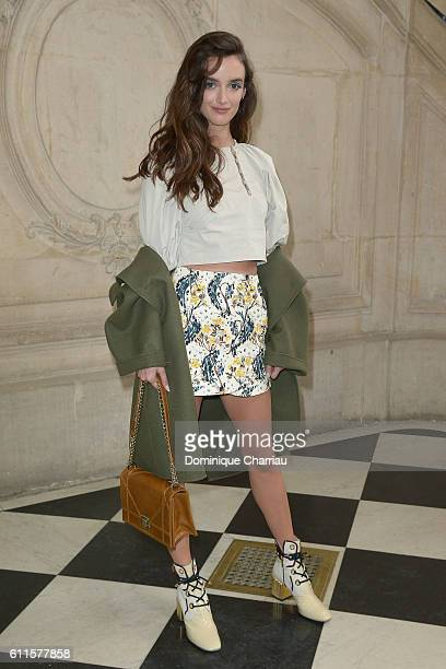 Charlotte Le Bon attends the Christian Dior show as part of the Paris Fashion Week Womenswear Spring/Summer 2017 on September 30 2016 in Paris France