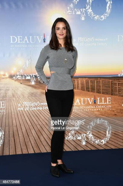 Charlotte Le Bon attends 'The Hundred Foot Journey' photocall on September 6 2014 in Deauville France