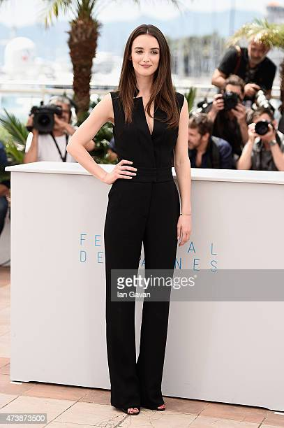 Charlotte Le Bon attends the 'Inside Out' Photocall during the 68th annual Cannes Film Festival on May 18 2015 in Cannes France