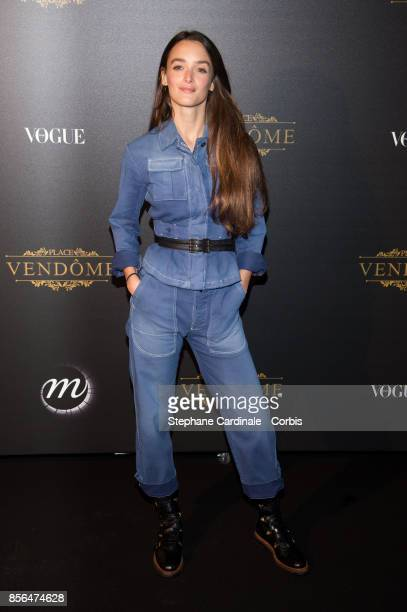 Charlotte Le Bon attends Vogue Party as part of the Paris Fashion Week Womenswear Spring/Summer 2018 at on October 1 2017 in Paris France