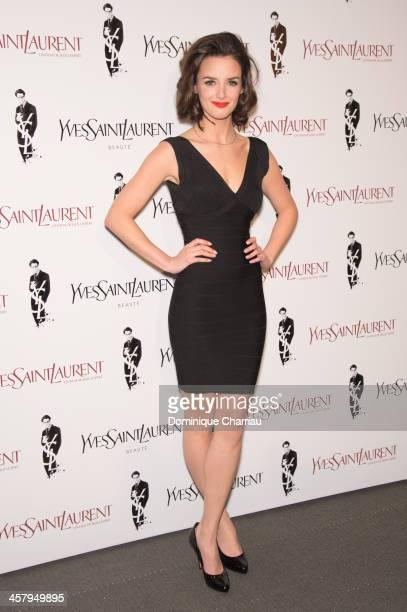 Charlotte Le Bon attends 'Yves Saint Laurent' Paris Premiere at Cinema UGC Normandie on December 19 2013 in Paris France