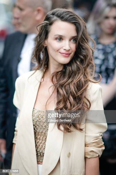 Charlotte Lebon attends the Vogue Foundation Dinner during Paris Fashion Week Haute Couture Fall/Winter 20172018 on July 4 2017 in Paris France