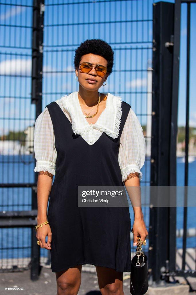 Day 1 - Street Style -  Stockholm Fashion Week Digital Edition 2020 : News Photo