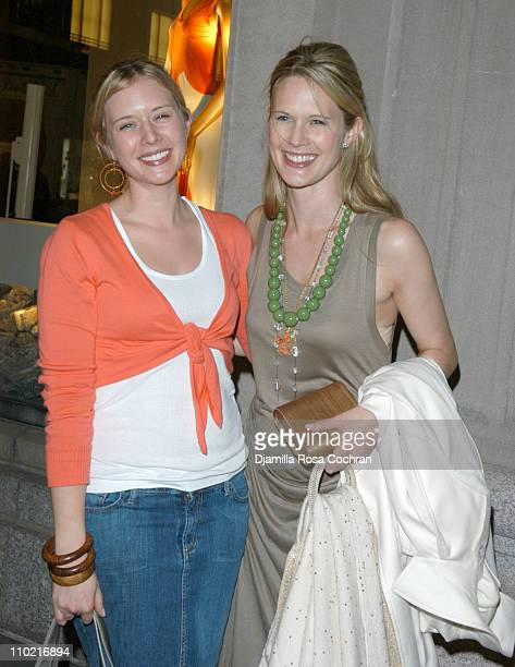 Charlotte March and Stephanie March during Malaak ComptonRock and Mariska Hargitay Host Safe Horizon 10th Annual Champion Awards at Calvin Klein...