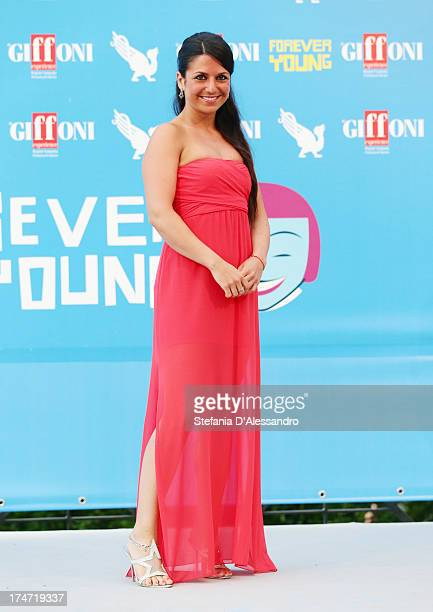 Charlotte Maria Barbera attends 2013 Giffoni Film Festival photocall on July 28 2013 in Giffoni Valle Piana Italy