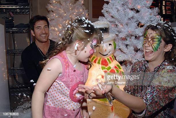 Charlotte McDermott Actor Dylan McDermott and Colette McDermott attend the Milkshopcom Winter Wonderland at 5th and Sunset Studios on December 6 2008...