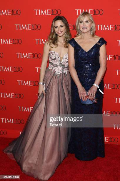 Charlotte McKee and Ann McKee attend the 2018 Time 100 Gala at Frederick P Rose Hall Jazz at Lincoln Center on April 24 2018 in New York City