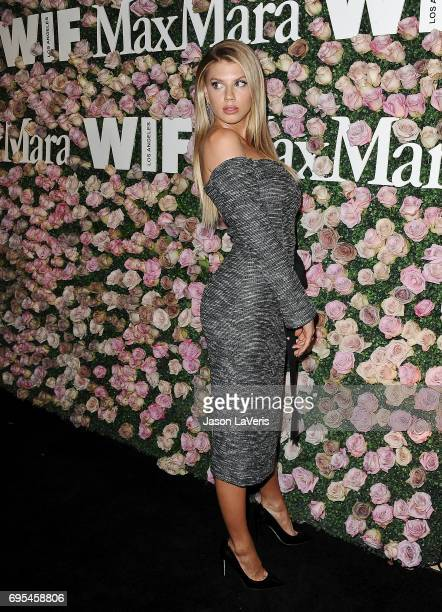 Charlotte McKinney attends Max Mara and Vanity Fair's celebration of Women In Film's Face of the Future Award recipient Zoey Deutch at Chateau...