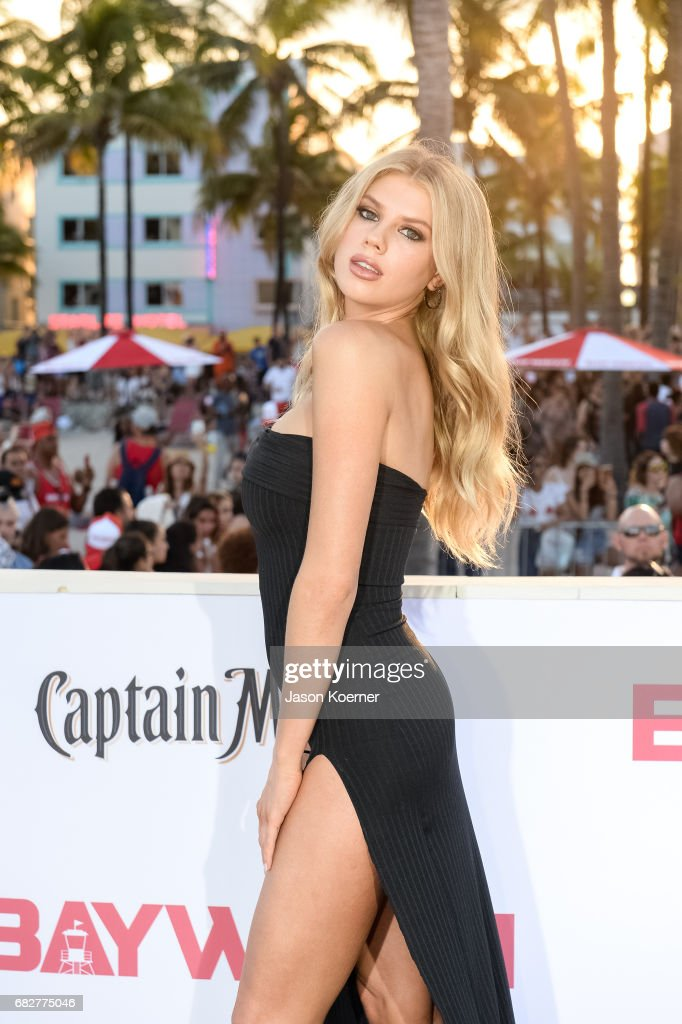 Charlotte McKinney attends Paramount Pictures' World Premiere of 'Baywatch'on May 13, 2017 in Miami, Florida.