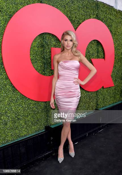 Charlotte McKinney attends the 2018 GQ Men of the Year Party at a private residence on December 6 2018 in Beverly Hills California