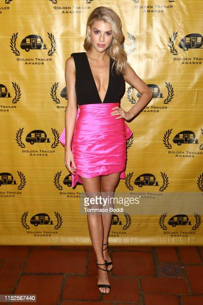 Charlotte McKinney attends the 20th Annual Golden Trailer Awards at Theatre at the Ace Hotel on May 29, 2019 in Los Angeles, California.