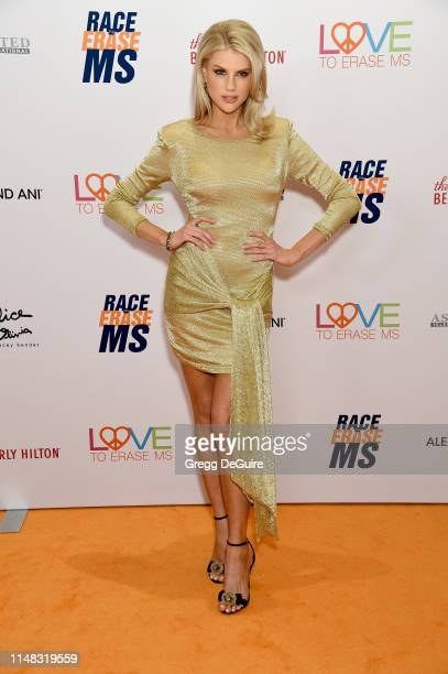 Charlotte McKinney attends the 26th Annual Race to Erase MS Gala at The Beverly Hilton Hotel on May 10 2019 in Beverly Hills California