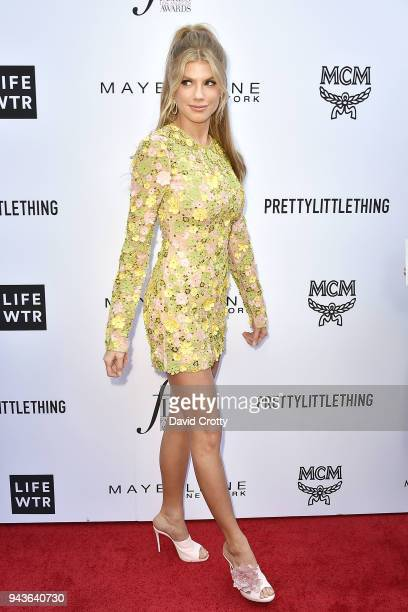 Charlotte McKinney attends The Daily Front Row's 4th Annual Fashion Los Angeles Awards Arrivals at The Beverly Hills Hotel on April 8 2018 in Beverly...