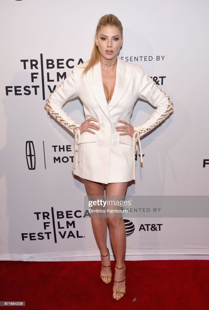 Charlotte McKinney attends the 'Literally, Right Before Aaron' Premiere during 2017 Tribeca Film Festival at SVA Theatre on April 22, 2017 in New York City.