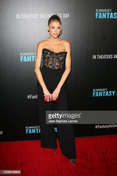 """Charlotte McKinney attends the premiere of Columbia Pictures' """"Blumhouse's Fantasy Island"""" at AMC Century City 15 on February 11, 2020 in Century..."""