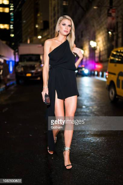 Charlotte McKinney attends Vanity Fair's BestDressed 2018 in the Financial District on September 12 2018 in New York City
