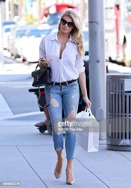 Charlotte McKinney is seen on October 29 2015 in Los Angeles California