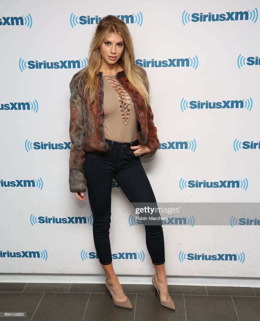 Charlotte McKinney visits at SiriusXM Studios on February 7, 2017 in New York City.