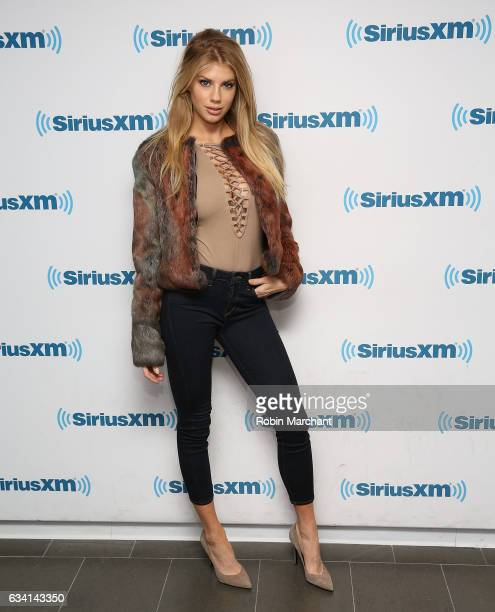 Charlotte McKinney visits at SiriusXM Studios on February 7 2017 in New York City