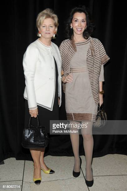 Charlotte Moss and Fe Fendi attend KARL LAGERFELD To Be Honored by FIT'S Couture Council Presented by DIANE KRUGER Sponsored by QUINTESSENTIALLY at...