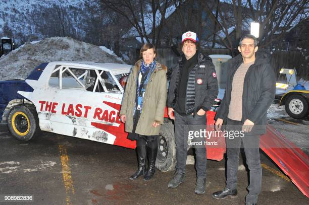 Charlotte Munch Bengsten Michael R Dweck and Gregory Kershaw attend the 'The Last Race' and 'Marfa' Premieres during the 2018 Sundance Film Festival...