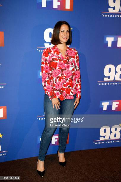 Charlotte Namura attends 398Secret d'une Victoire Paris Premiere at Gaumont Champs Elysees on May 30 2018 in Paris France